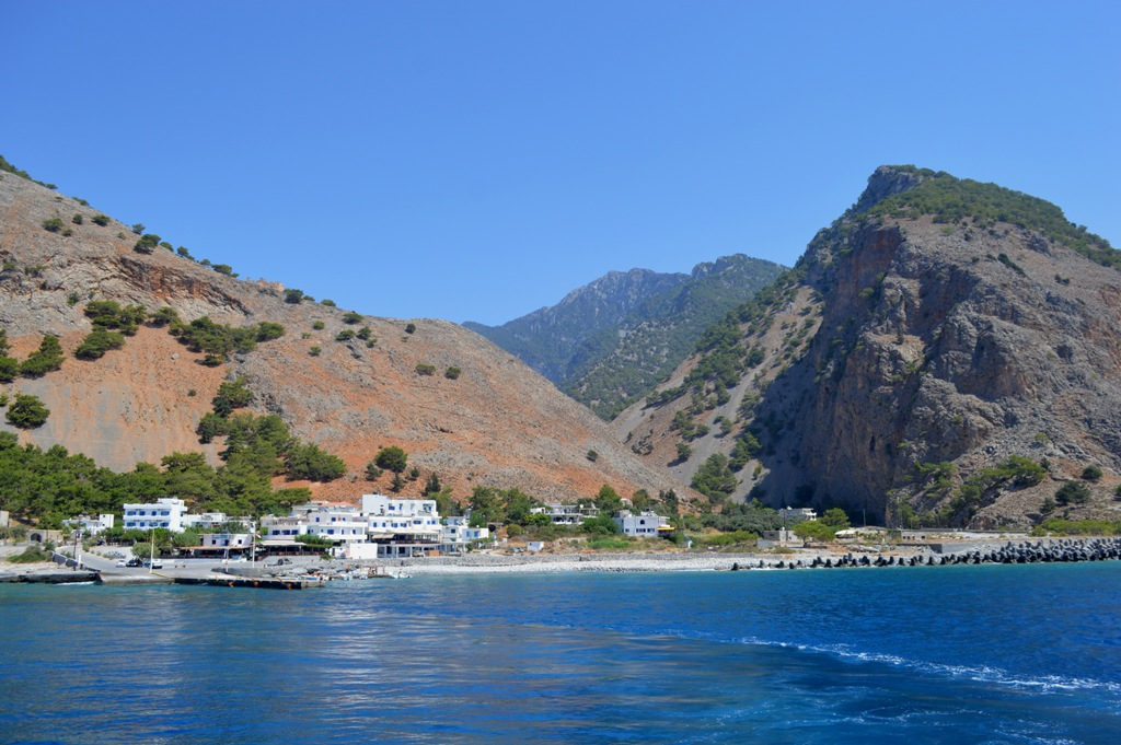 Evenos_Travel_Agia_Roumeli_village