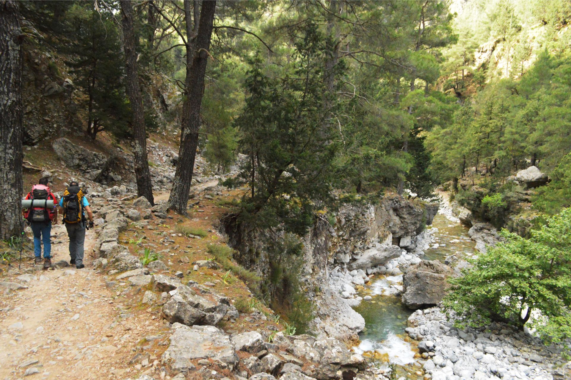 Gorges coastlines & tastes Samaria gorge Evenos travel